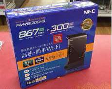 n/a/g/b/対応無線LAN親機 NEC
