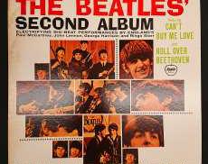 THE BEATLES SECOND ALBUM TOSHIBA EMI