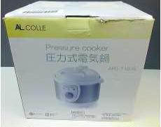 圧力式電気鍋|アルファックス・コイズミ