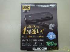 SSD120GB以下 ELECOM