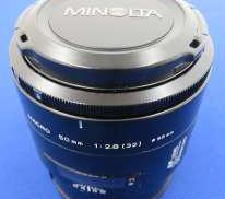 標準・中望遠単焦点レンズ MINOLTA