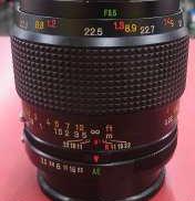 標準・中望遠単焦点レンズ KONICA
