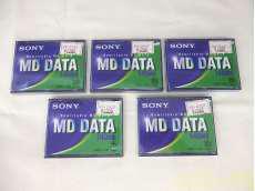 MDデータディスク 5個セット SONY