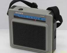 ポータブルラジオ SONY XES