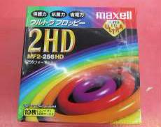 [ジャンク品]フロッピーディスク 10枚入り HITACHI MAXELL