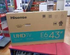 ※未開封品※4Kチューナー内蔵43型液晶テレビ HISENSE