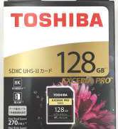 SDXCカード TOSHIBA