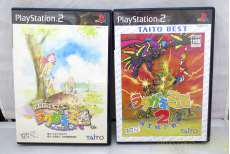 プレイステーション2ソフト ラクガキ王国1.2セット TAITO