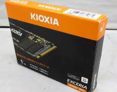 高速大容量M.2 NVMe SSD|KIOXIA