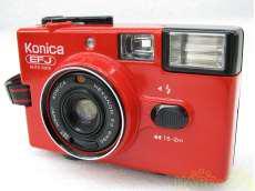 【ジャンク】 フィルムカメラ KONICA