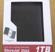 【未開封/未使用】USB3.0/2.0接続外付けHDD TRANSCEND