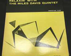 『Relaxin' With The Miles ~』LP Prestige