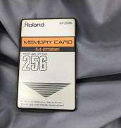 ローランド メモリーカード|ROLAND