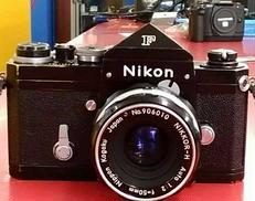 フィルムカメラ F アイレベル 中期/50mm F2|NIKON