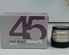 Carl Zeiss レンズ 45mm F2 Planar|CARL ZEISS