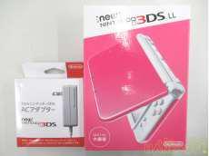 NEW 3DS LL(ピンク&ホワイト)|NINTENDO