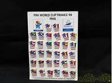 WORLD CUP FRANCE 98 PINS|FIFA