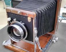 木製大判カメラ/レンズSET 長岡製作所/SCHNEIDER