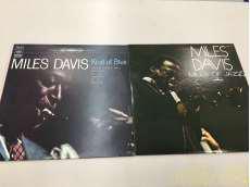 マイルス デイビス LP2枚セット|CBS SONY