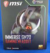 ゲーミングヘッドセット|MSI