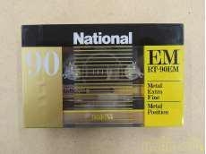 未開封メタルテープ NATIONAL