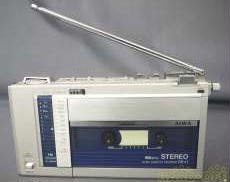 ポータブルカセットレコーダー AIWA