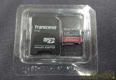 microSDHCカード TRANSCEND