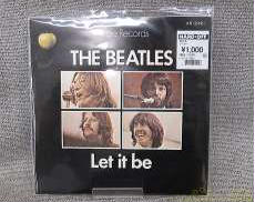 Let it be/THE BEATLES|APPLE RECORDS