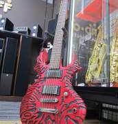 エレキギター RAGNAROK VOLCANO RED SPEAR