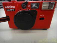 コンパクトカメラ KONICA