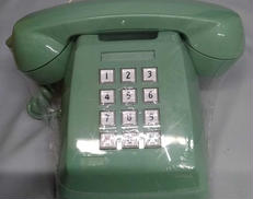 昭和レトロプッシュ式電話機|NTT