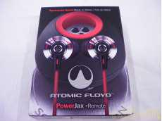 カナル型マイク付きイヤホン ATOMIC