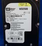 UATA HDD 250GB WESTERN DIGITAL