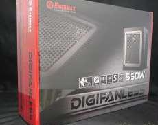 【ファンレス設計で無音動作の550W】電源ユニット|ENERMAX