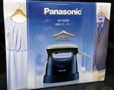 【自宅にも出張にも便利な衣類スチーマー】 PANASONIC