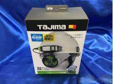 未使用品 ヘルメット内送風機 TAJIMA