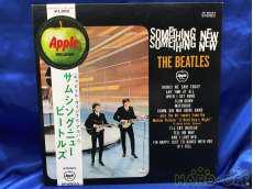 レコード THE BEATLES / SOMETHING NEW Apple Records