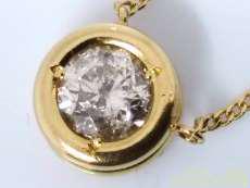 【1.13ct】K18ダイヤネックレス|宝石付きネックレス