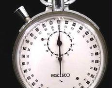 手巻き式ストップウォッチ|SEIKO
