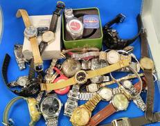 セイコー、シチズン、カシオなど腕時計・懐中時計(ジャンク品含む)|SEIKO CITIZEN CASIOなど30点程度