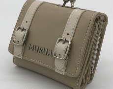 2つ折りガマ口財布|MURUA