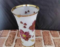 花瓶 ボヘミアンガラス