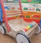 押し車 おもちゃ箱|BORNELUND