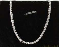 K18WG ブレスレット|宝石付きブレスレット