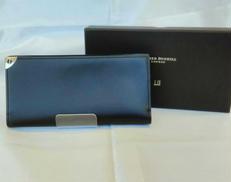 【美品】【箱付き】dunhill ダンヒル 長財布 ブラック|DUNHILL