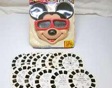 VIEW-MASTER 3-D MICKEY LOOK|TYCO