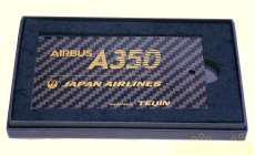 日本航空 A350 就航初便記念バゲージタグ 帝人