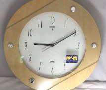 木枠 電波掛時計|SEIKO