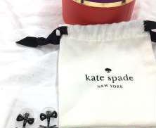 ネコ型ピアス 未使用品 KATE SPADE