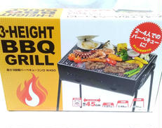 3-HEIGHTBBQGRILL|キャプテンスタッグ㈱